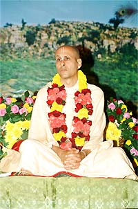 Radhanath Swami Vyas Puja Photo