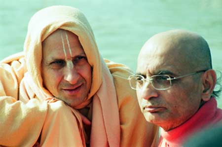 Radhanath Swami With Godbrother
