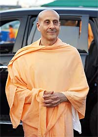 Radhanath Swami at Moscow