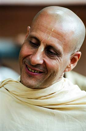 Radhanath Swami Close Photo