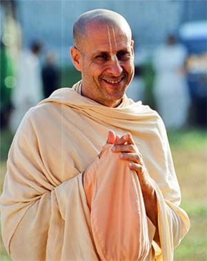 Smiling Photo of Radhanath Swami