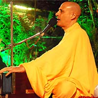 Radhanath Swami Kirtan at Birla House