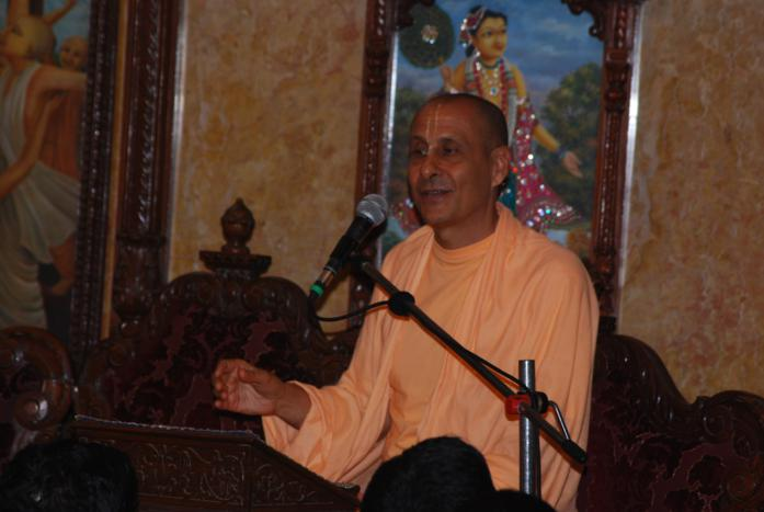 Talk by Radhanath Swami during Prerana Youth festival