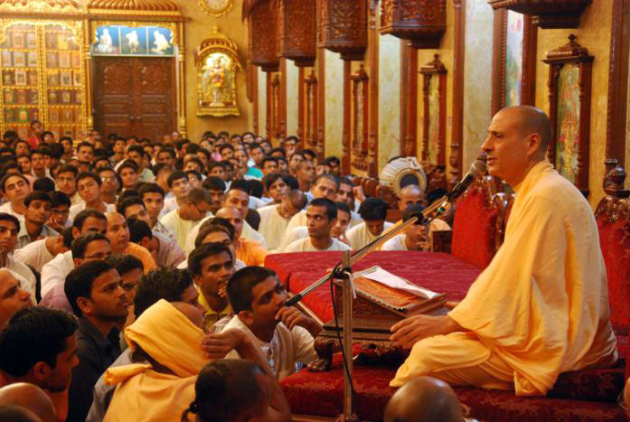 Prerna lecture by Radhanath Swami